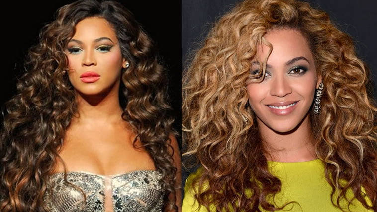 Beyonce curly hair ideas