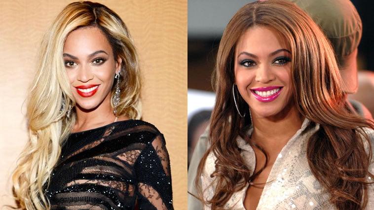 Beyonce hair colors
