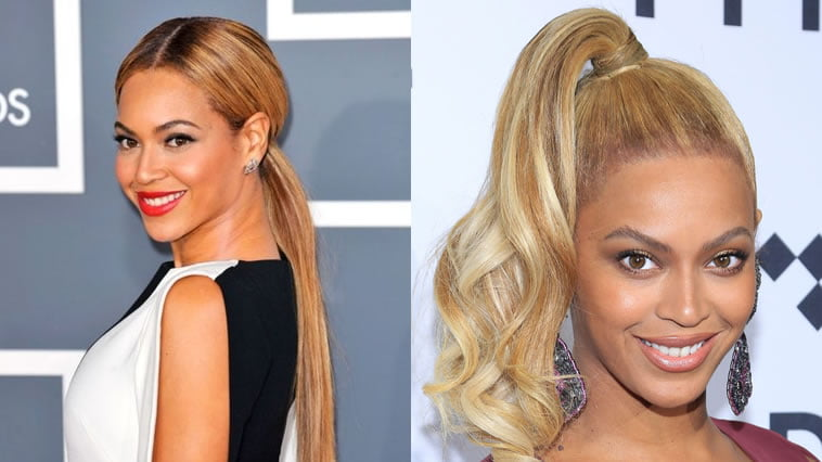 Beyonce ponytail braids