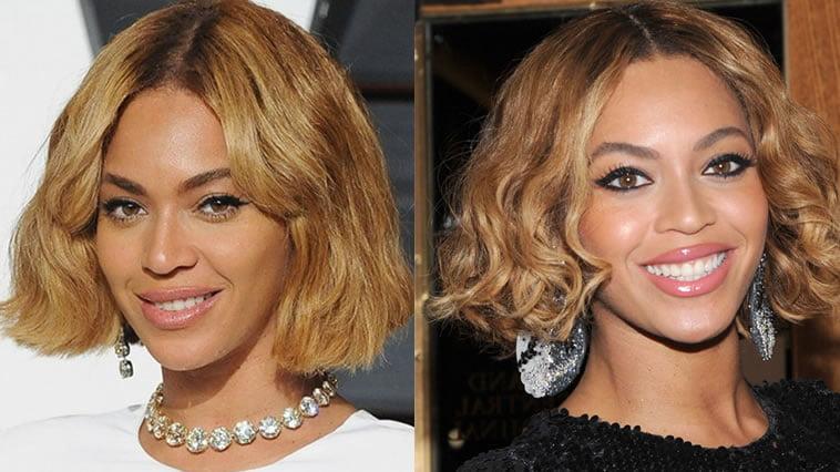 Beyonce short bob hairstyles