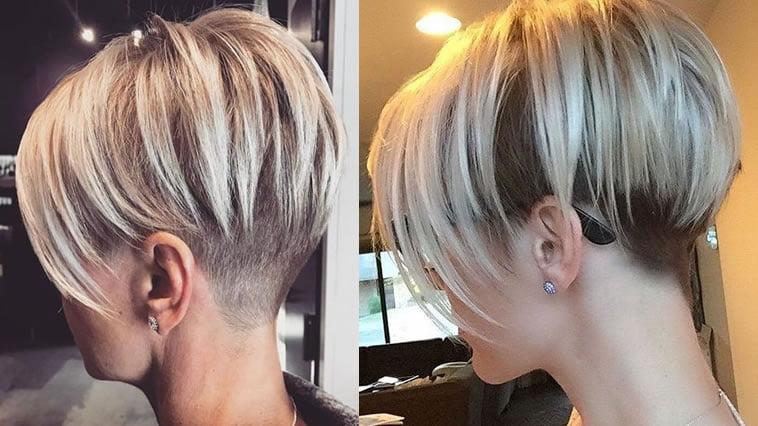Undercut haircut for short hair type