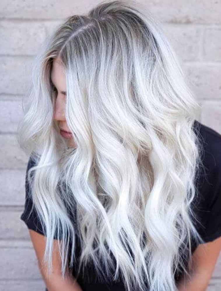 ash blonde with cooler tones