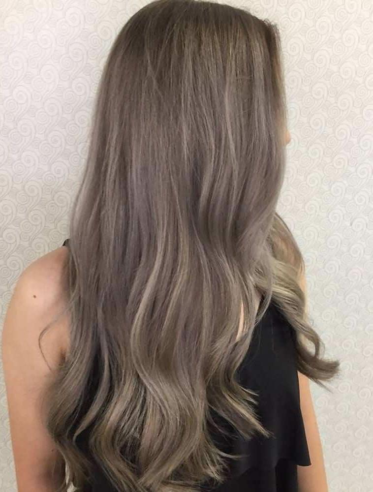 2019 Dark ash hair
