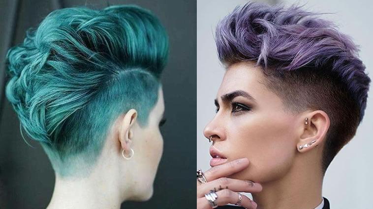 2019 Green hair color