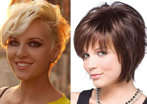 Haircuts for round faces 2019