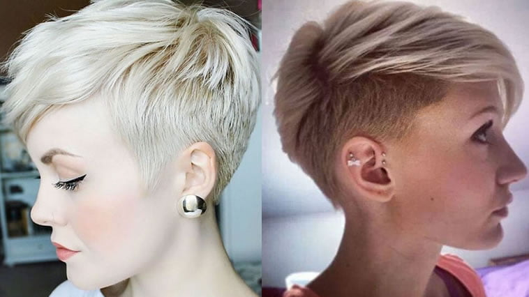 Layered short undercut