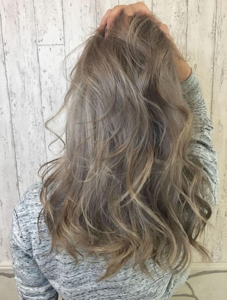 ash brown hair color idea 2019
