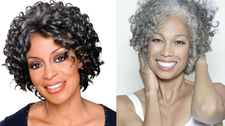 Curly Short Hairstyles for Older Women Over 50 to 60 \u2013 Page