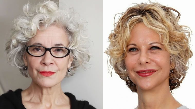 pixie curly hair for older women over 60
