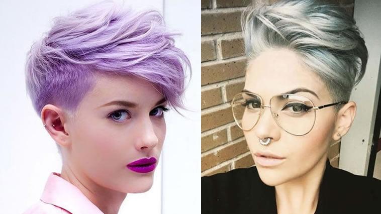 Purple hair color 2019