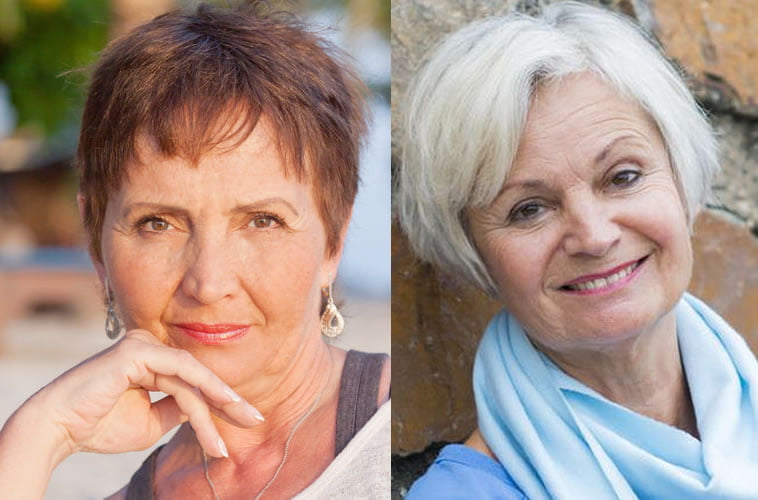pixie hairstyles over 60