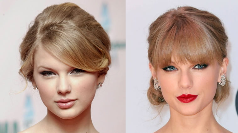 Taylor Swift bun hairstyles