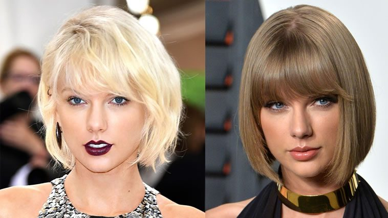 Taylor Swift new hairstyles