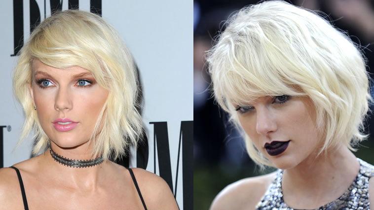 Taylor Swift platinum hair