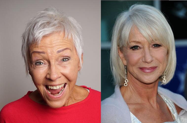 bob hairstyles for older ladies