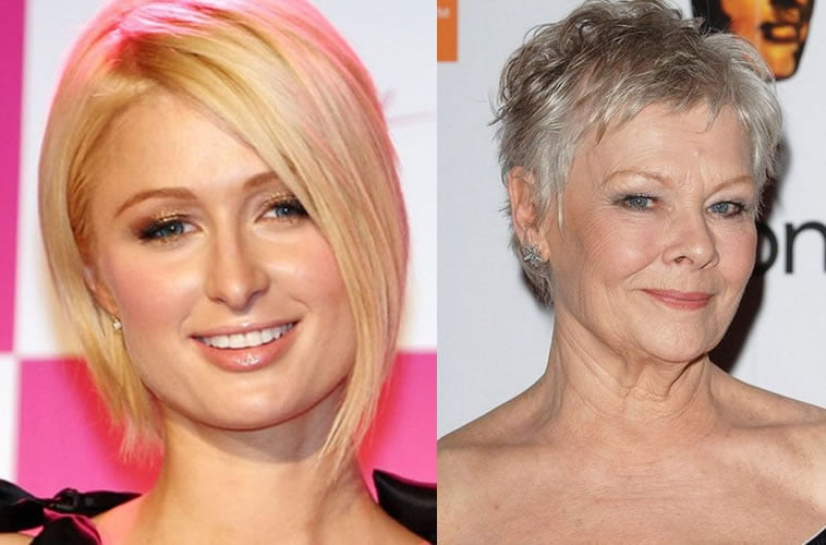 Very short pixie hair for older ladies over 50