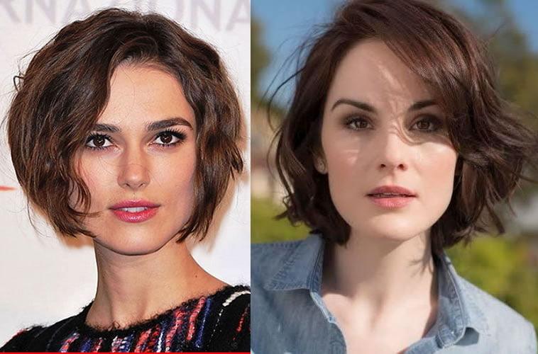 2019 short wavy hairstyles