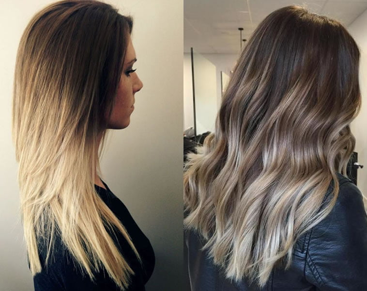 blonde ombre 2019