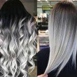 grey ombre hair 2019