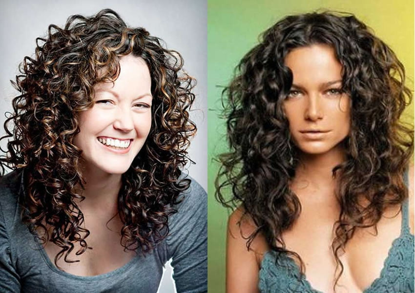 2019 long curly hairstyles