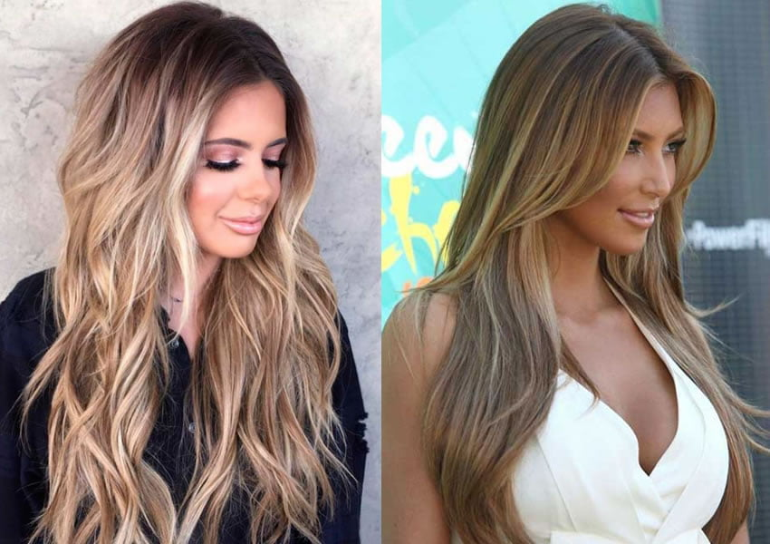 2019 long haircuts for women