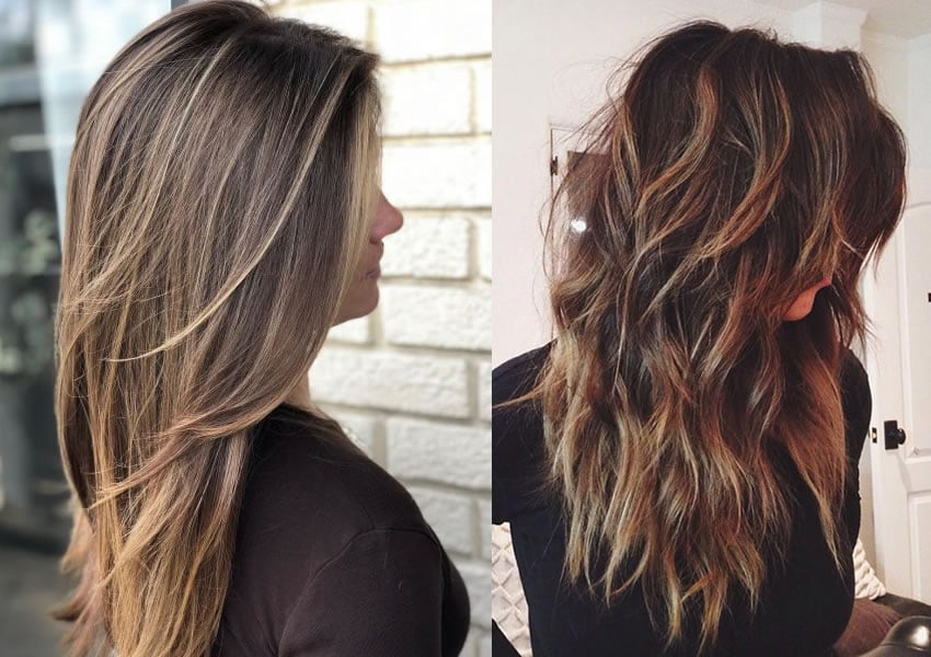 long layered hairstyles 2019