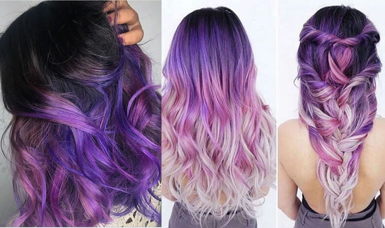 2019 purple ombre