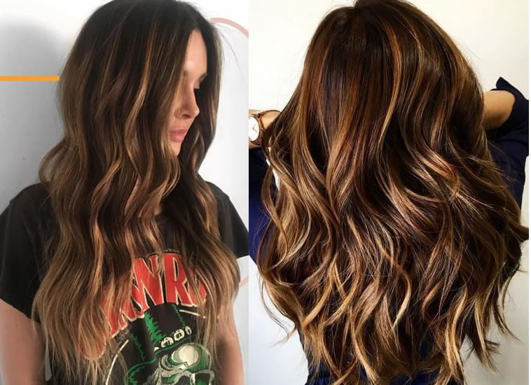 2019 balayage hair colors
