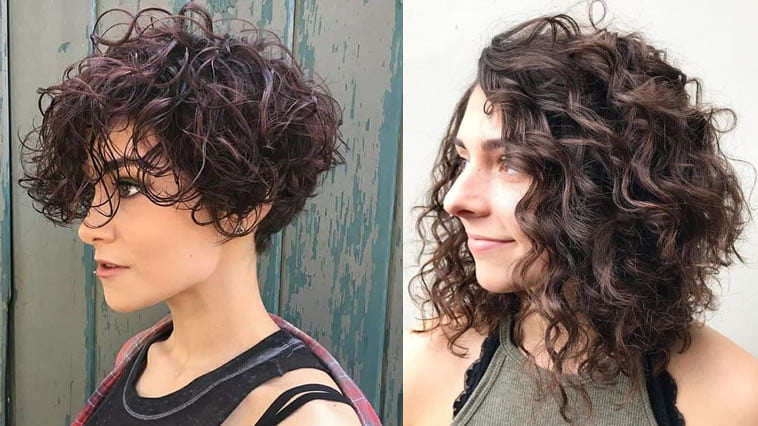2019 curly haircuts for female
