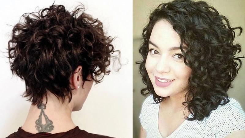 2019 short curly hair