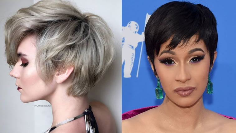 2019 pixie hairstyle