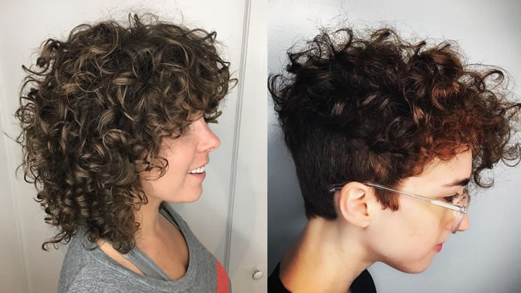 curly haircuts for women 2019
