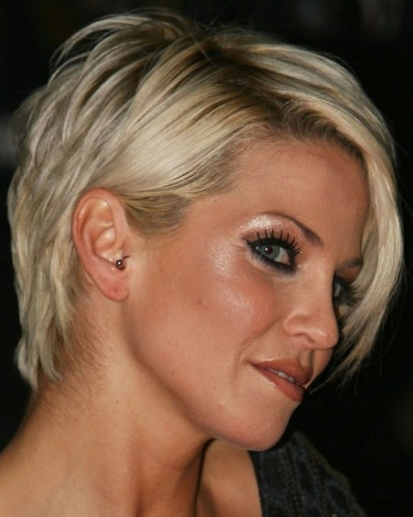 short haircuts for ladies over 50