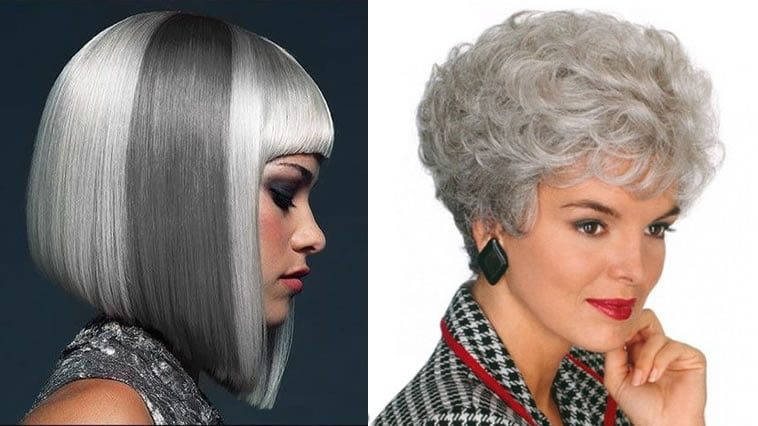 Dark grey to light grey hair color 2019