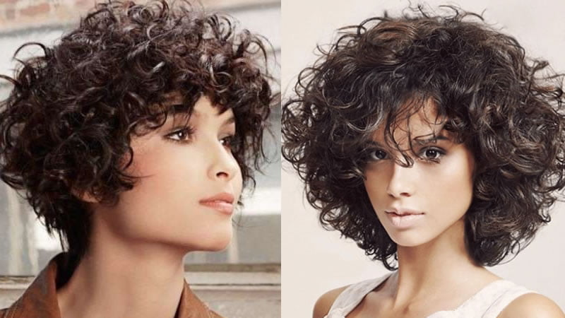 medium curly haircuts for female