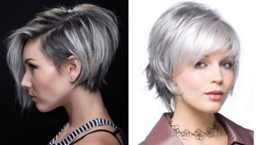 Grey hair color 2019