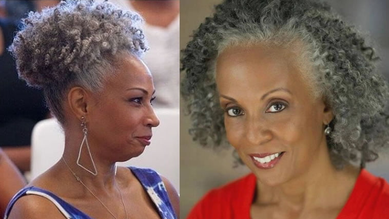 natural hairstyles for older black woman