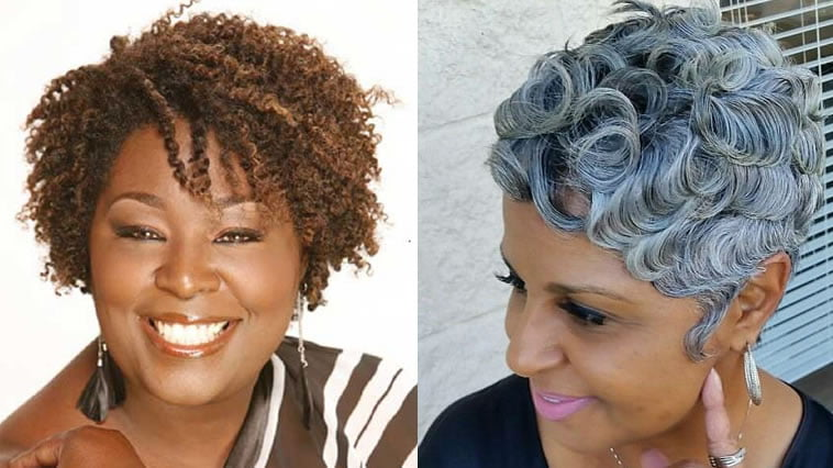 2019 natural hairstyles for older black woman