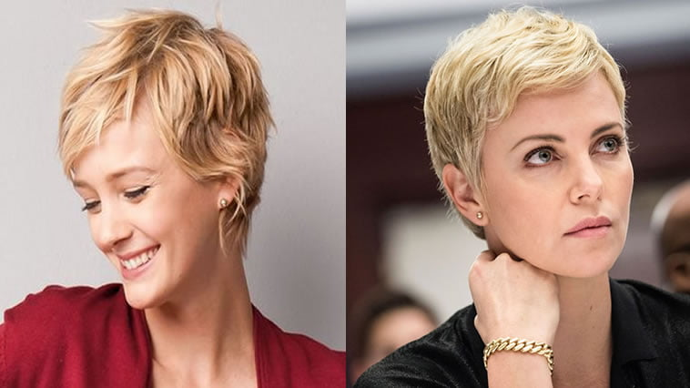2019 pixie haircut for female