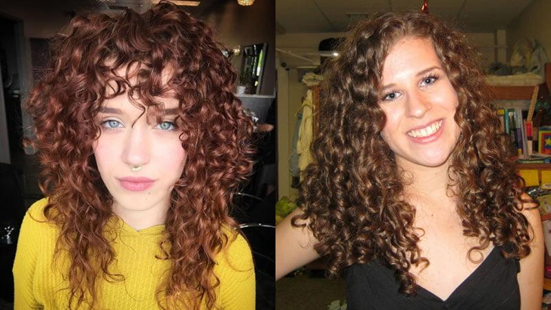 Natural curly haircuts 2019-2020