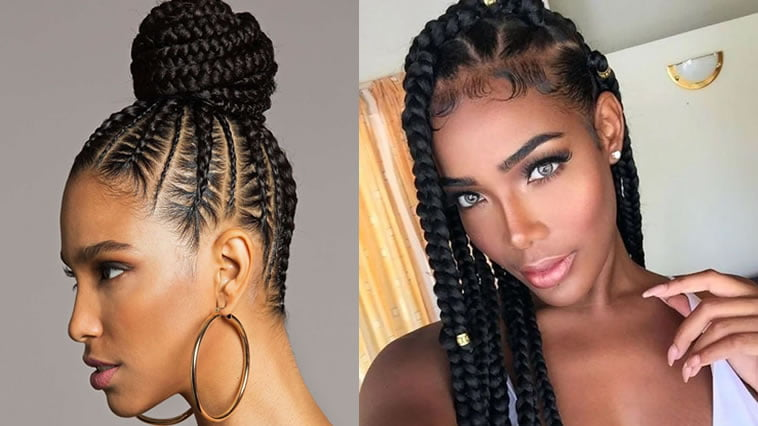 Trendy Box Braids Hairstyles for Black Women \u2013 HAIRSTYLES