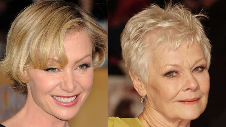 short pixie style older women over 60