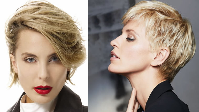 short hairstyles for women 2020 - 2021