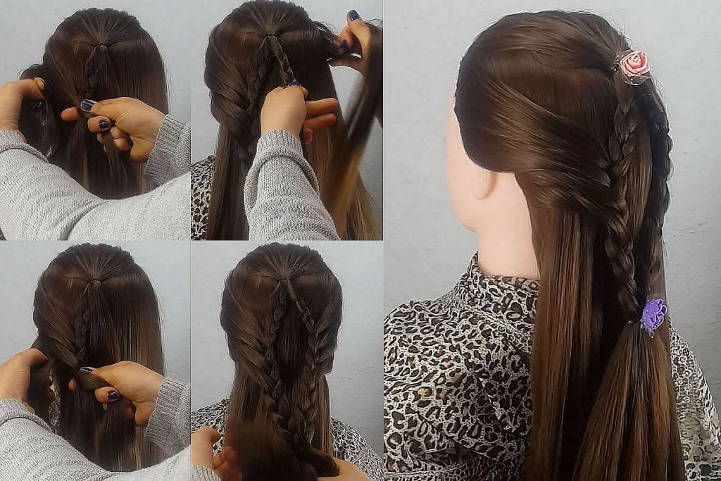 Easy school hairstyles for girls 2019 - 2020