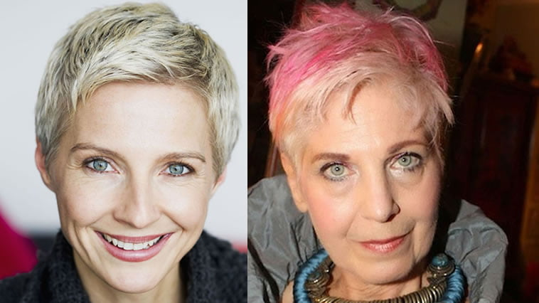 short hairstyle for ladies over 50