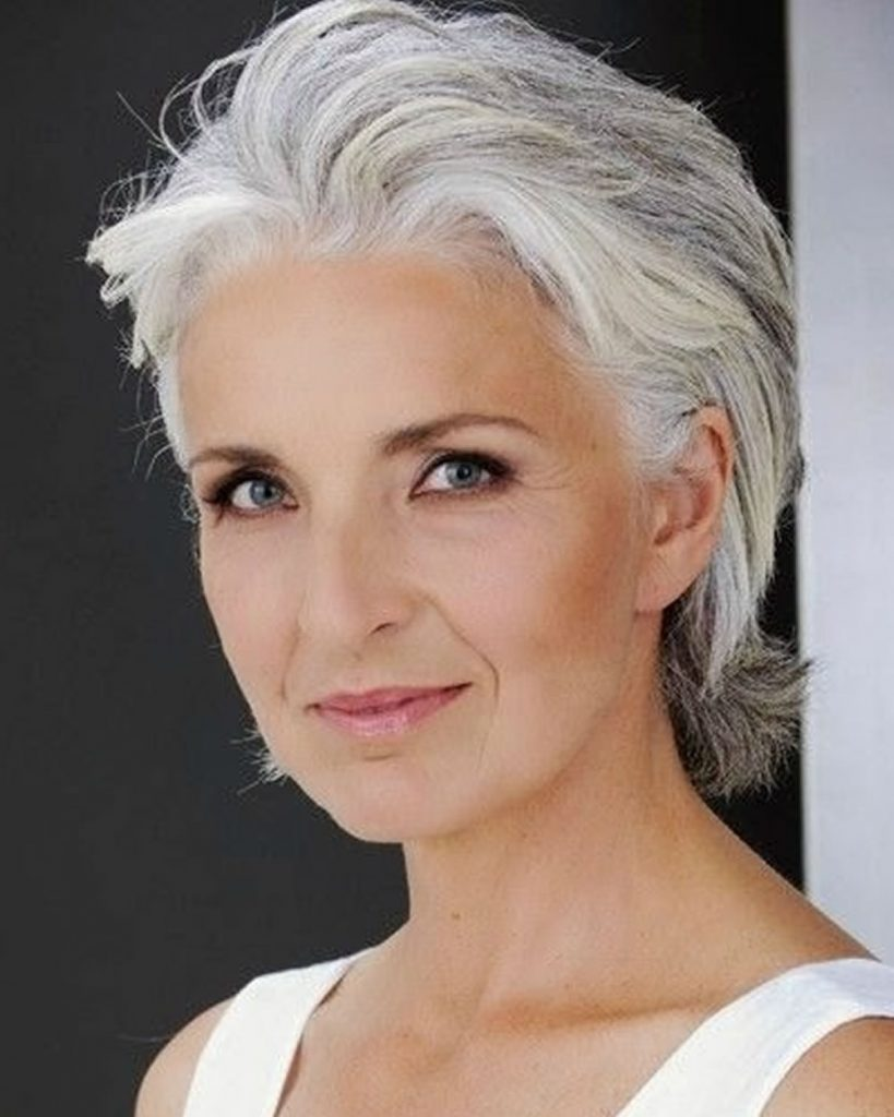 Short Haircut for Older Women \u0026 Hairstyles Over 50 to 60 for