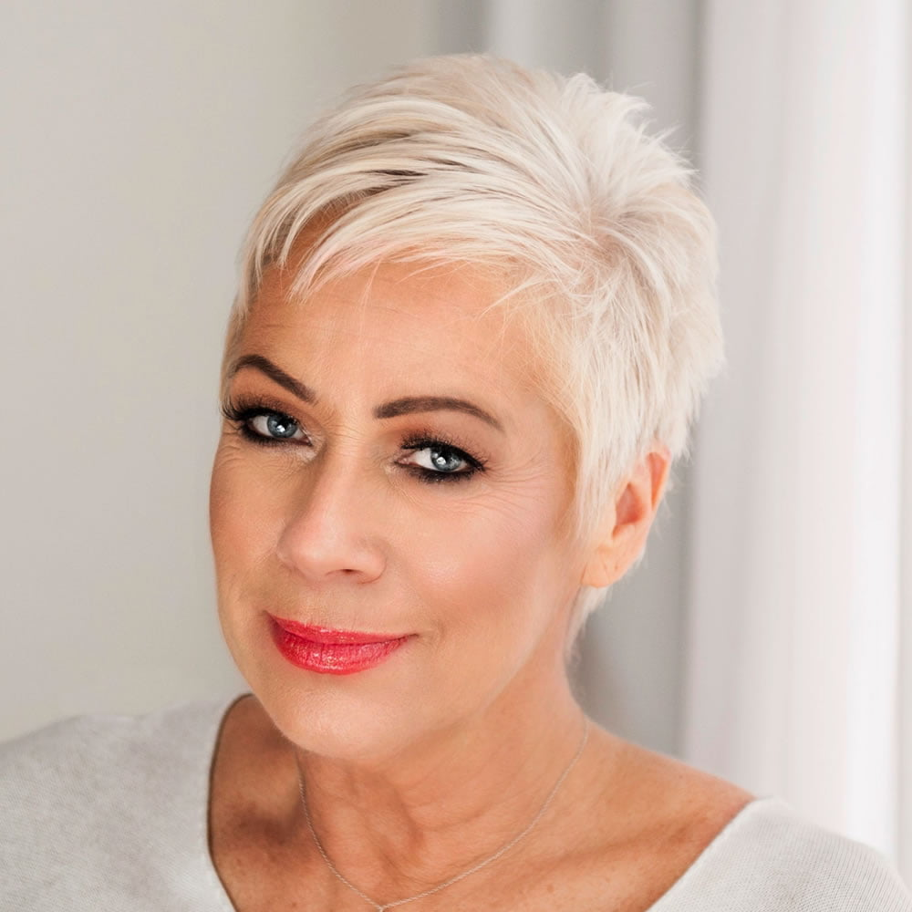 Short pixie haircut for older ladies over 50