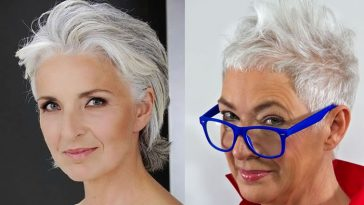 Short Haircut for Older Women & Hairstyles Over 50 to 60