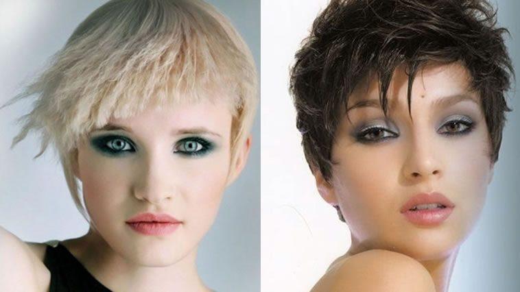 Short pixie haircuts for women 2019 - 2020
