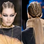 braids ponytail hairstyles 2020